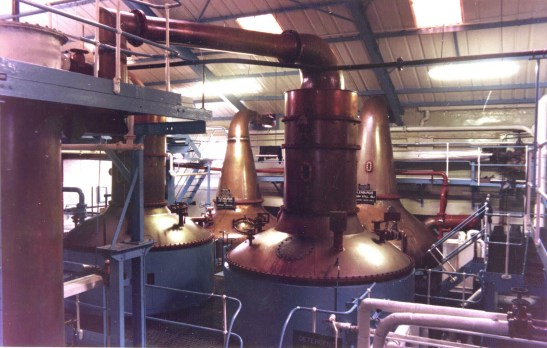 GB  Lomond Spirit & Wash Stills 1958