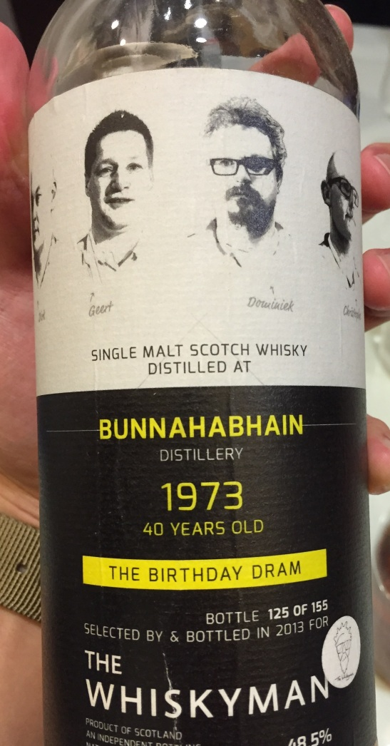Bunnahabhain birthdaydram