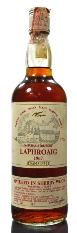 Laphroaig 67 Samaroli