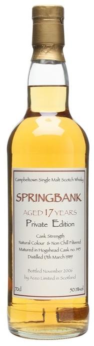 Springbank aceo