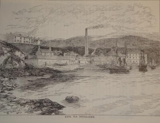 Caol Ila old distillery